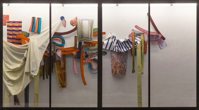 Wil Murray, 'Painted Shut' (2013).Mixed media Installation.