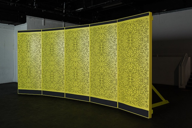 """Osculator"" (2012), installation view. Image courtesy ICA."
