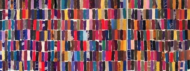 """Gwenn Thomas, """"AB: 51/Untitled"""" (triptych). Image courtesy artist."""