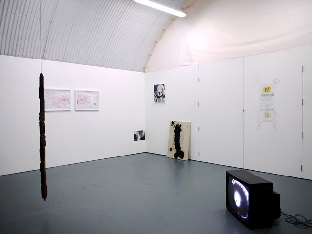 It's been four years since 2010 at Arcadia Missa with Preteen Gallery, June 2014. Exhibition view. Courtesy Arcadia Missa.