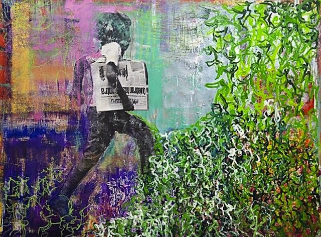 """Untitled"" by Seyda Cesur. Image courtesy START art fair."