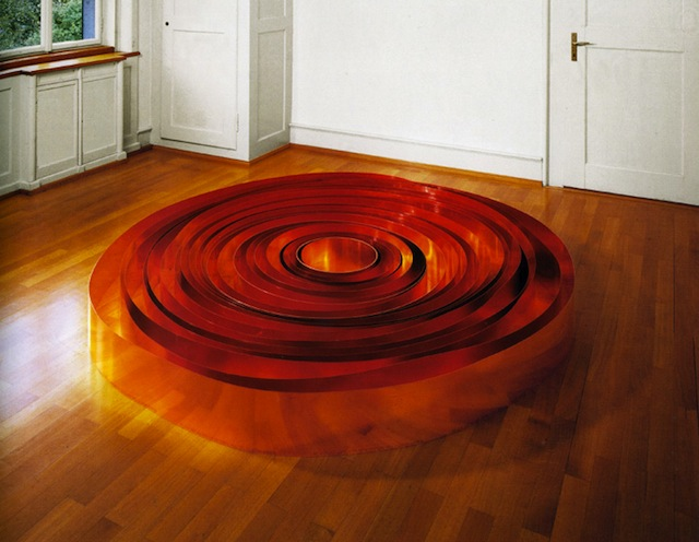 """Copper Galaxy"" by Carl Andre. Image courtesy artist."