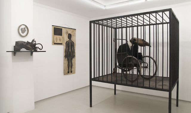 Jan Manski, installation view. Image courtesy Breese Little.