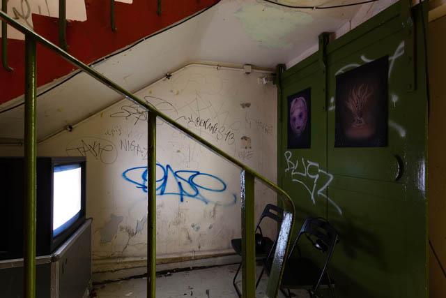 Schizo-Culture (2014) @ [ space ] exhibition view. Courtesy the gallery.