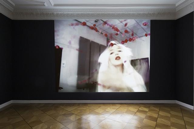 Petra Cortright, 'Main Bitch' (2012) @ PETWELT (2014) installation view. Courtesy Societe.