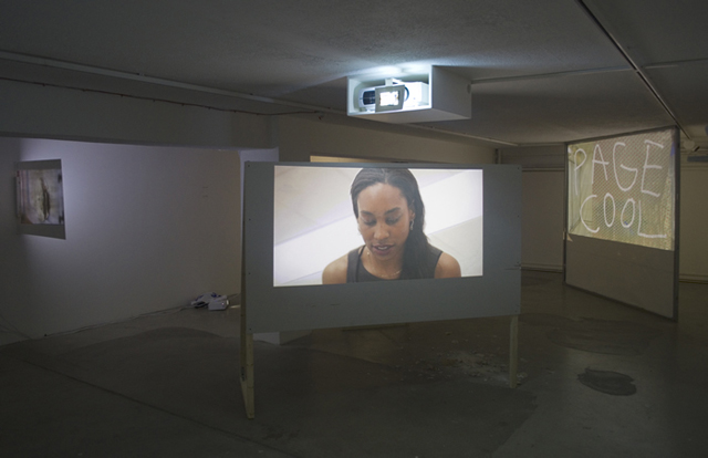 Paul Kneale, SEO and Co. (2014) @ tank.tv installation view. Courtesy the artist.