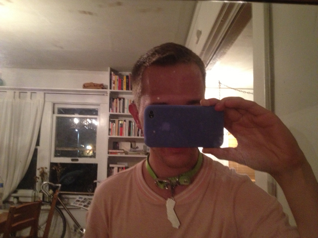 cali collar selfie