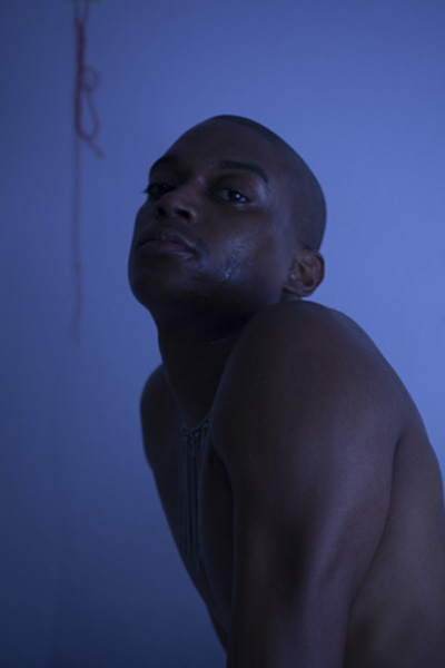 Lotic. Photo by Elias Johansson.