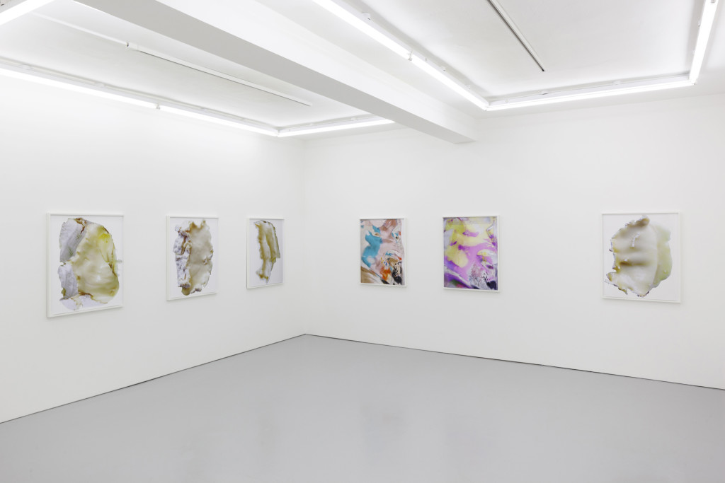Lisa Holzer, Keep All Your Friends (2015). Exhibition view. Courtesy Rowing, London.