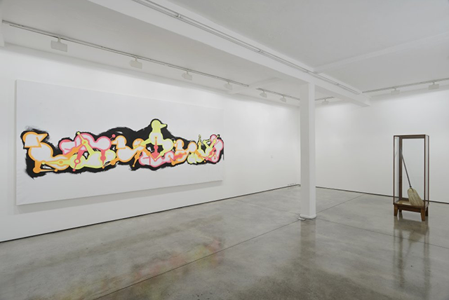 AA Bronson, HEXENMEISTER (2015). Exhibition view. Courtesy Maureen Paley, London.
