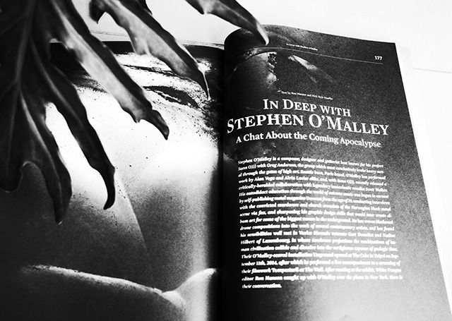 bw_In Deep with Stephen O'Malley