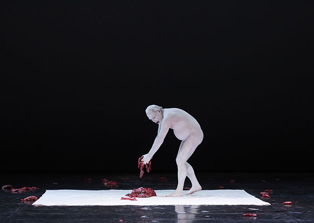 "Scene from Fabre's ""Mount Olympus"" at Berliner Festspiele on June 23, 2015."