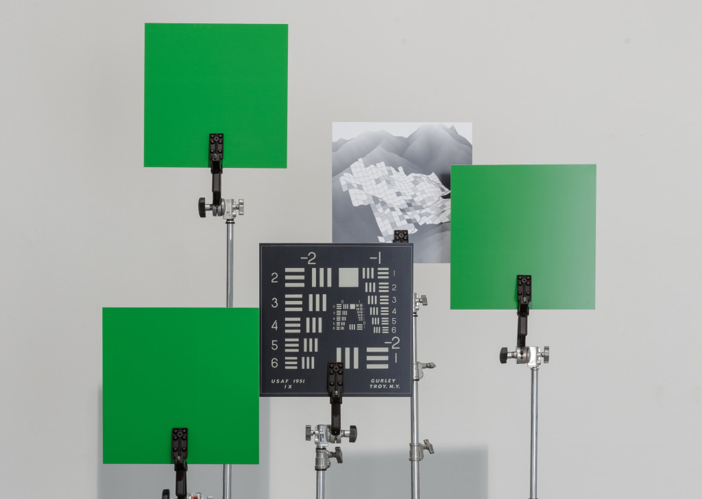 'Grazed Images' (2015) Exhibition view. Contemporary Art Centre.