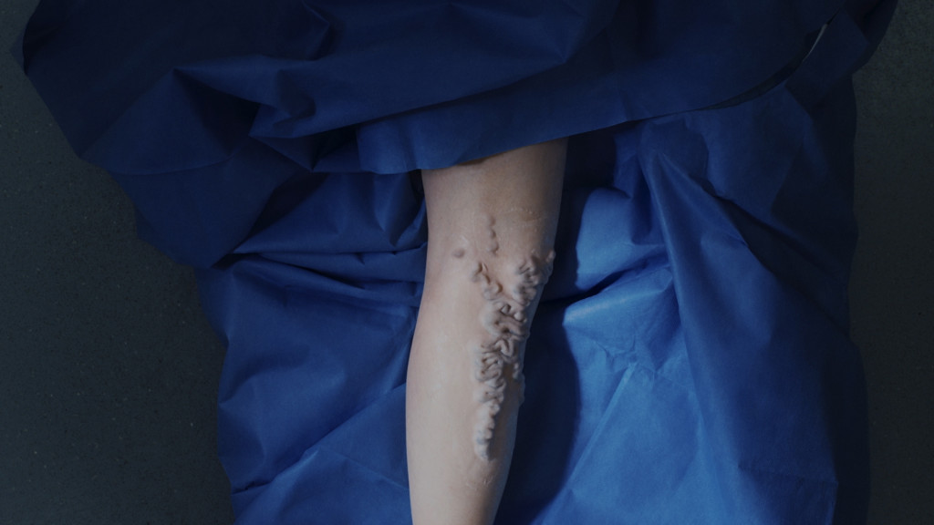 Marianna Simnett, 'Blood' (2015). Video still. Courtesy the artist and the Jerwood/FVU Awards.