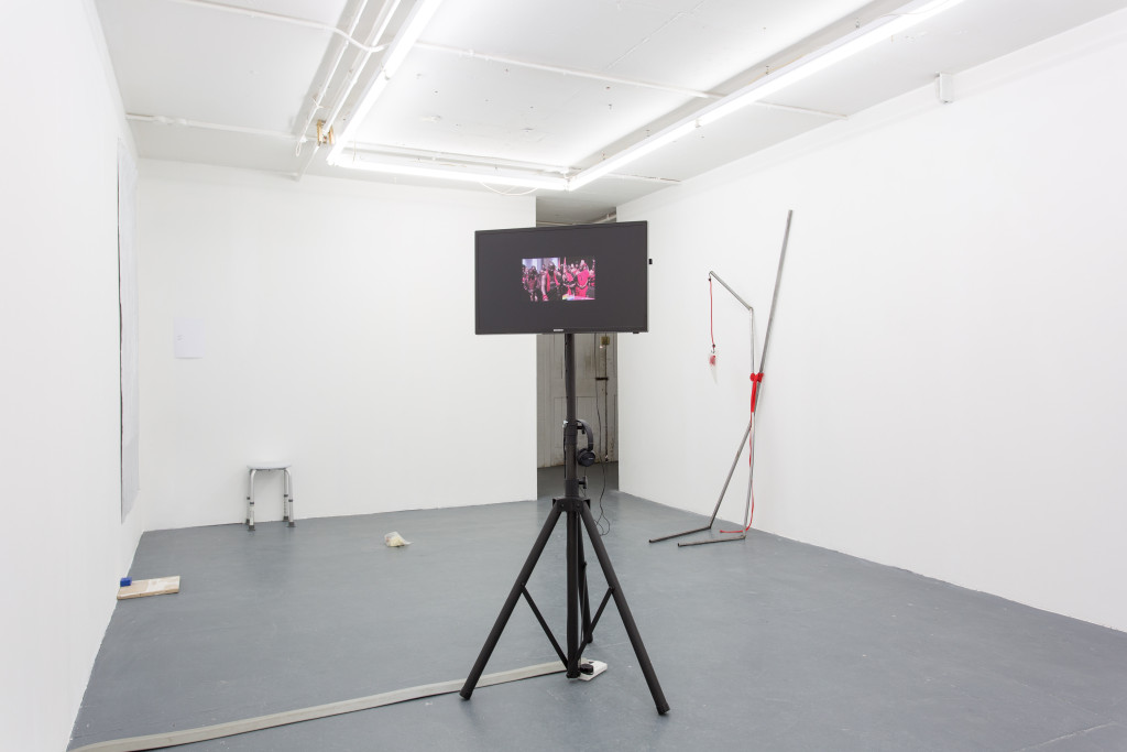 Milou van der Maaden, From a Head to a Head (2011) Install view. Courtesy MOT International, London.