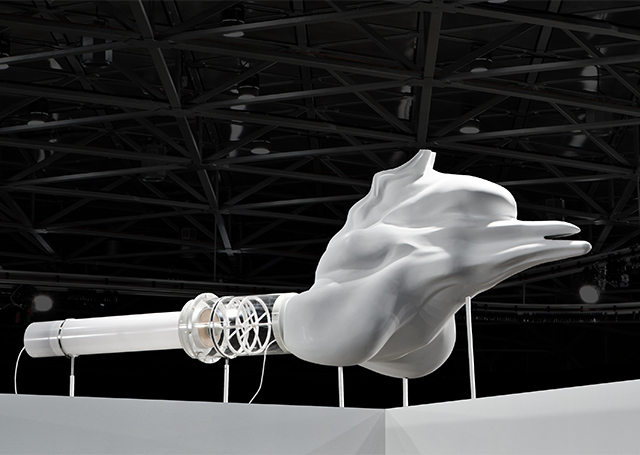 'Walking Whale' from The Opera of Prehistoric Creatures (2012). Image courtesy: Felipe Ribon.