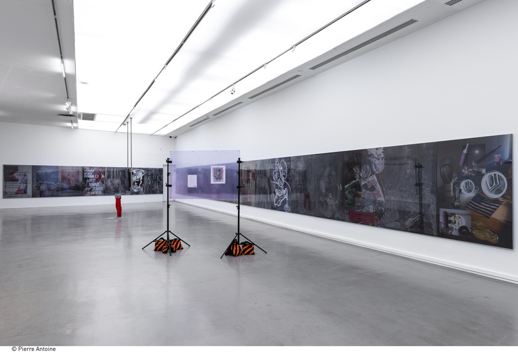 Co-Workers – Network as Artist (2015). Exhibition view. Courtesy Musée de l'Art Moderne de la Ville de Paris.