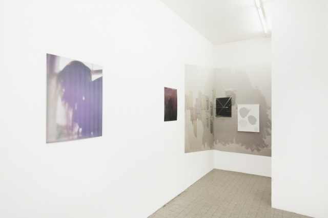 Philomene Pirecki works @ In the Wake (2015. Installation view. Courtesy Truth and Consequences.