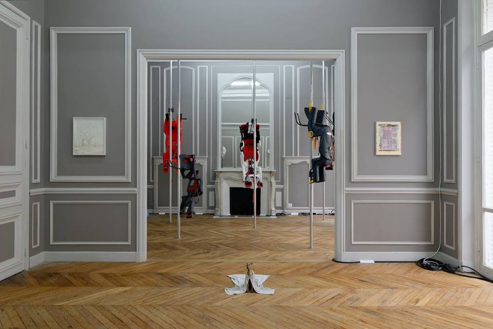 High Art, Paris + Chapter, New York @ Paris Internationale (2015). Installation view.