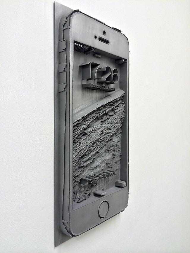 Spiros Hadjidjanos, 'Displaced (Smartphone)' (2014).