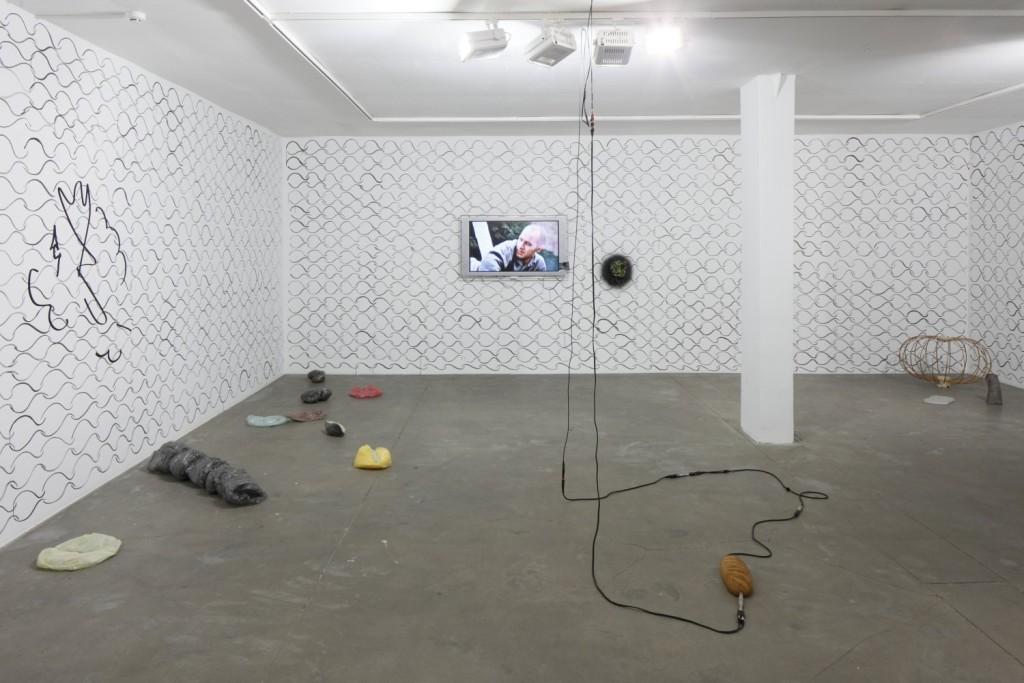 Exit, Stuttering & Nebula (2015-16). Exhibition view. Courtesy kim?, Riga.