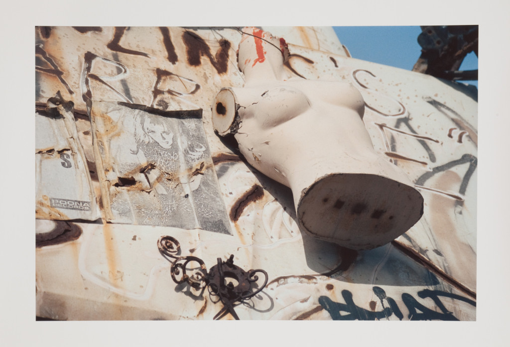Jean Baudrillard, 'New York' (1992). Courtesy Château Shatto, Los Angeles.