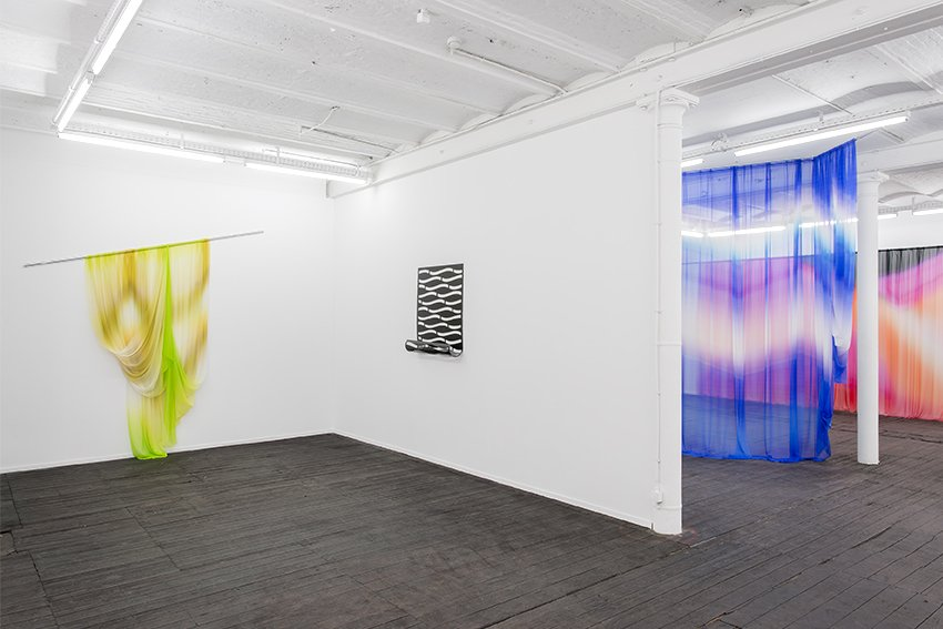 Justin Morin, Q10 (2015). Exhibition view. Courtesy Jeanroch Dard, Brussels.