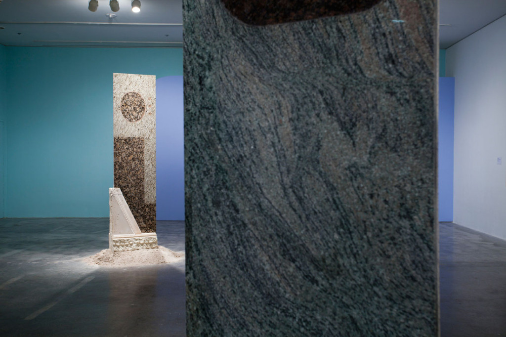 Left to right: Loriel Beltran, 'Unknown kitchen monument', 'Unknown Bathroom monument' (2013). Courtesy the artist.