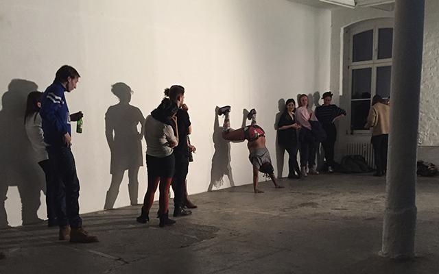 niv Acosta, CLAPBACK (2016) @ KW, Berlin.