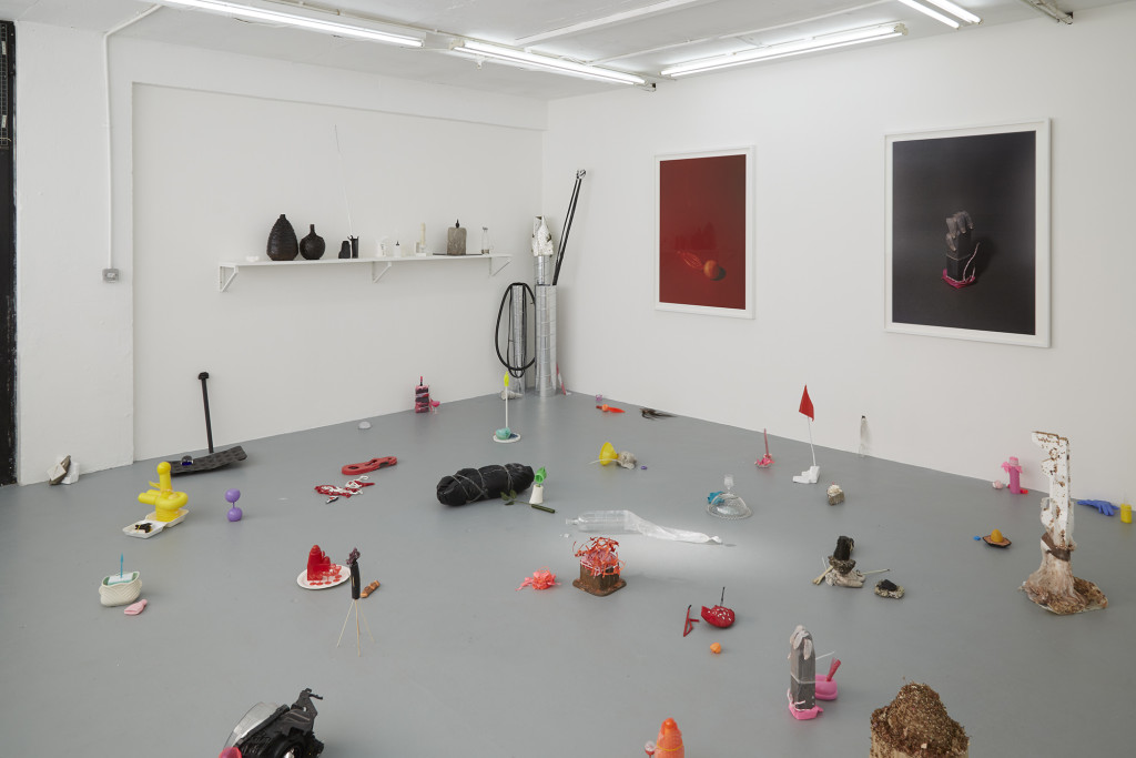 The ARKA Group, Votives (2015). Exhibition view. Courtesy Space In Between, London.