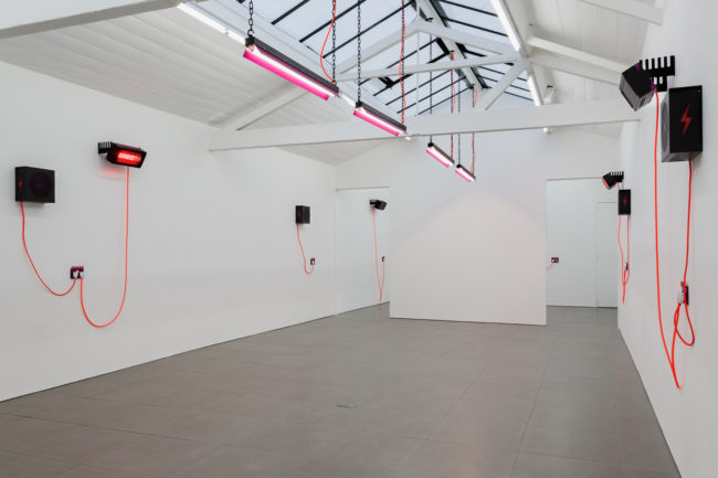 Natalie Dray, DRAY (2015). Installation shot. Courtesy the artist and Cell Project Space