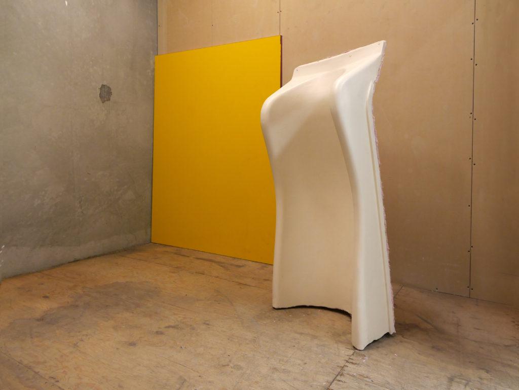 Nevine Mahmoud, Three Isolated Effects (2016). Installation view. Courtesy Lock Up International.