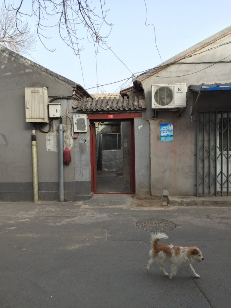 BanQiao Hutong 10甲/ I: project space, Siheyuan entry. Courtesy Jenifer Nails, Frankfurt, + I:Project Space, Beijing.