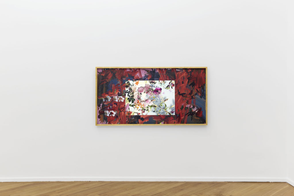 Petra Cortright, die Rose (2016). Installation view. Courtesy Société, Berlin.