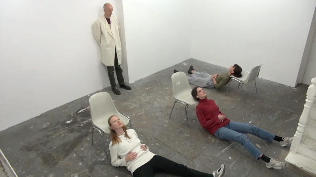Sanna Helena Berger, A Range (2015). Performance view. Courtesy Jupiter Woods, London.