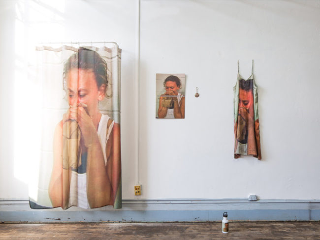 Eva and Franco Mattes, Panick Attach (2016). Installation view. Courtesy SPRING:BREAK and the artists