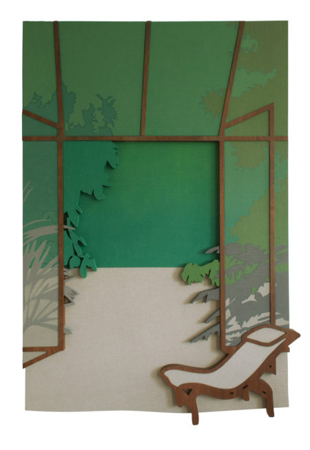 Lauren Keeley, Garden (2015). Courtesy the artist and Supplement, London