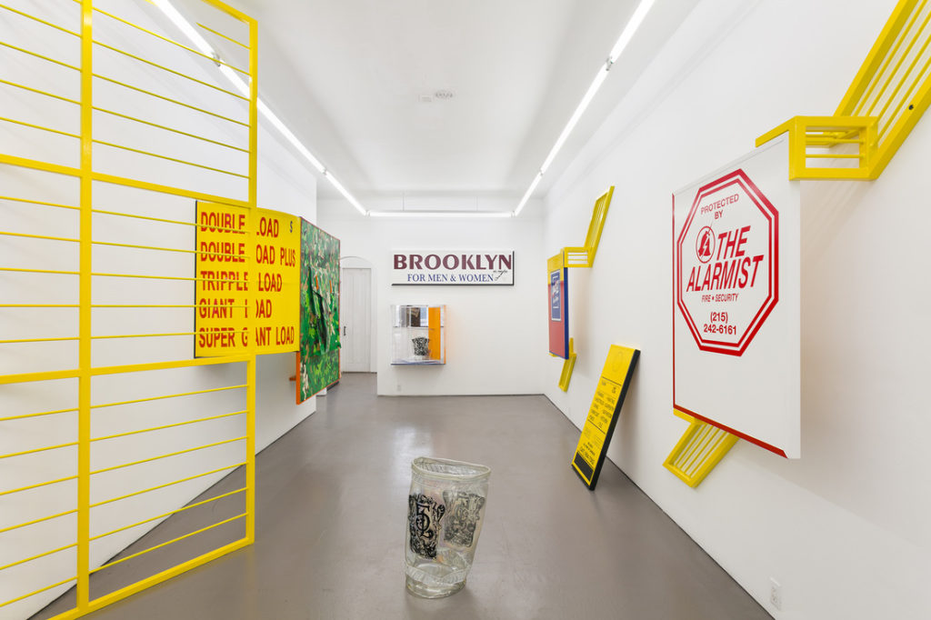 Borna Sammak, Town Crier (2016). Installation view. Courtesy American Medium, New York.