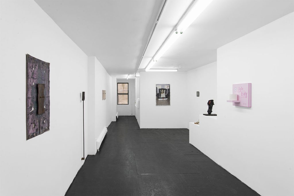 Peachtree Industrial (2016). Exhibition view. Courtesy Bodega, New York.