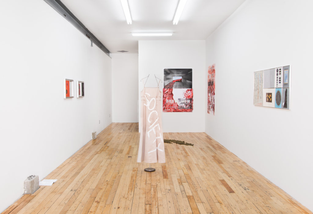 Dead Letter Office (2016). Exhibition view. Courtesy JTT, New York.