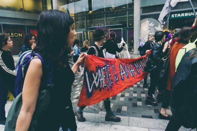 WHEREISANAMENDIETA protest (2016). Courtesy WHEREISANAMENDIETA community.