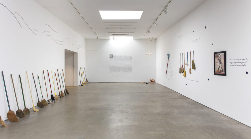 Alexis Smith, The Sorcerer's Apprentice (2016). Exhibition view. Installation view. Courtesy Honor Fraser, Los Angeles..