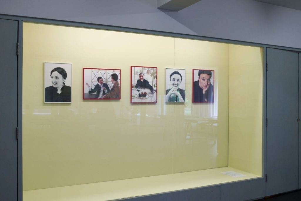 Buenos Tiempos, Int., The Ages of Beatrix Ruf: A History of Power Transvestism (2014-16) @ Kunstnernes Hus, Oslo. Install view. Photo by Kristien Daem. Courtesy the artists.
