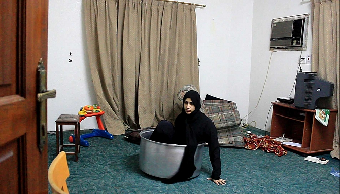 Sarah Abu Abdallah, 'The Salad Zone' (2013). Video still. Courtesy the artist.