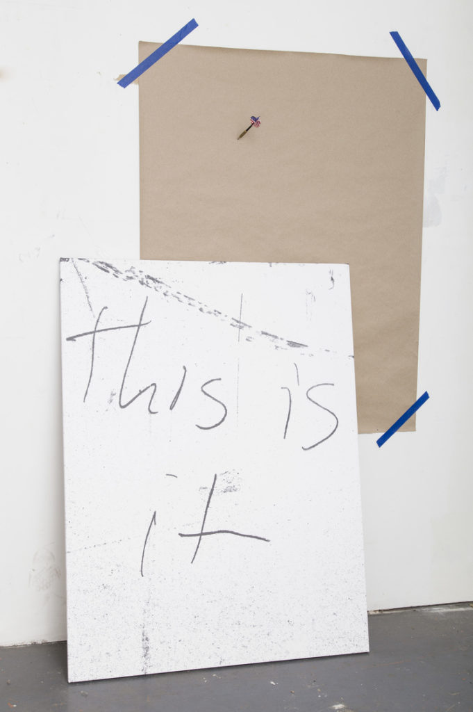 Kyle Petreycik, 'This is it' (2015). Courtesy the artist.
