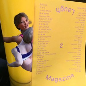LAUGH Magazine Issue 2 Launch + Show @ LD 50, Sep 29