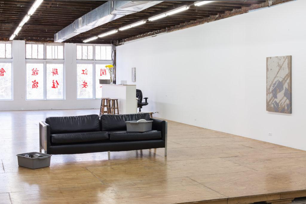 Georgie Nettell, 2013 (2013). Exhibition view. Courtesy Reena Spaulings, New York.
