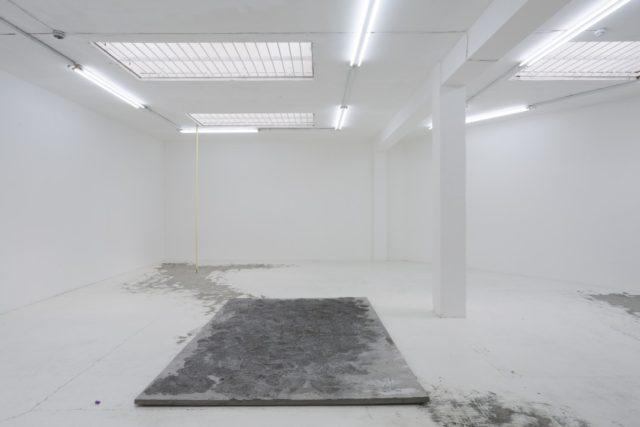 Maria Gorodeckaya, 'Concrete Slab', (2016). Installation view. Courtesy the artist + Almanac, London.