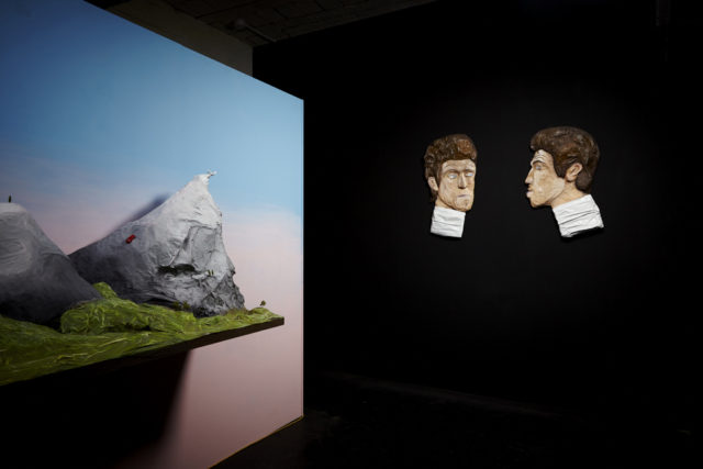 Dominic Watson, 'Specific Emotions' (2015). Installation view. Courtesy New Studio, London.