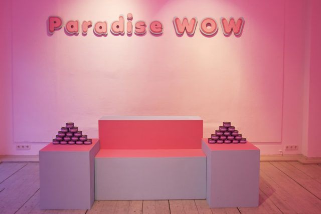 FREIZEIT, Paradise WOW (2016). Installation View. Courtesy the artists + NON Berlin Asia Contemporary Art Platform, Berlin